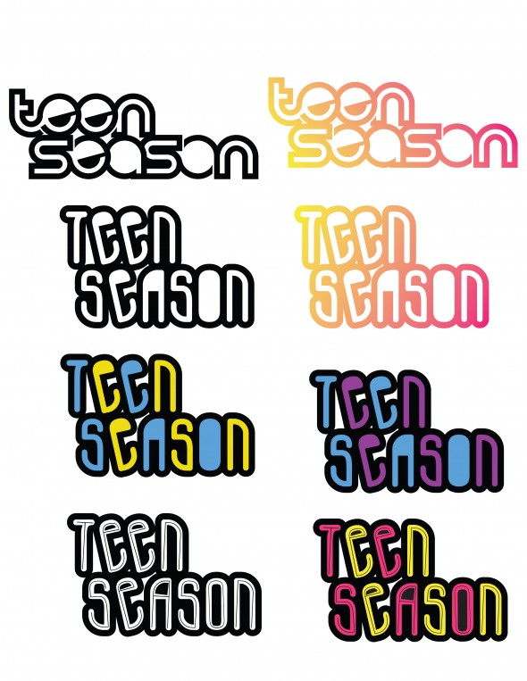 Teen Season Logo Drafts